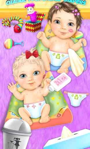 Sweet Baby Girl Twin Sisters 2
