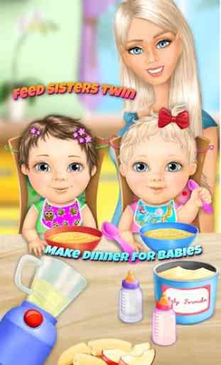 Sweet Baby Girl Twin Sisters 3