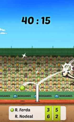 Tennis Marionnette- Coup Droit 4
