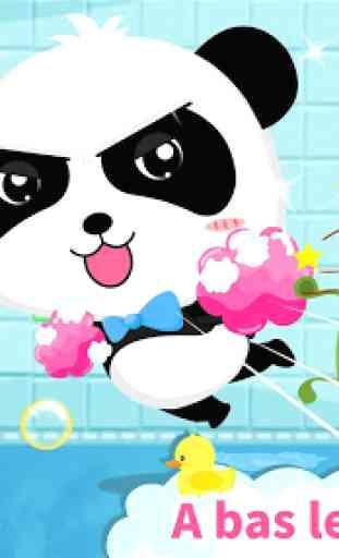 Toilette de bébé panda - Éveil 1