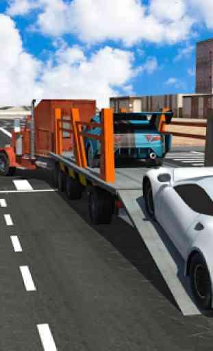 transport de voitures remorque 2