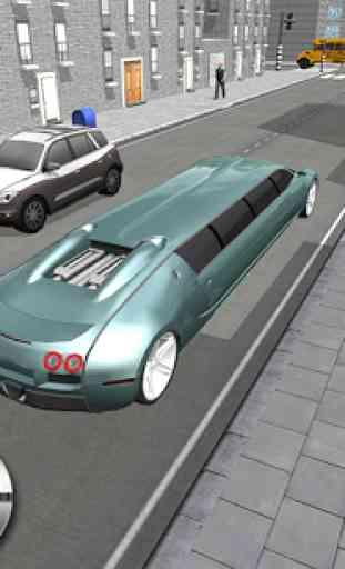 Urban City Limo Legend 3D 3