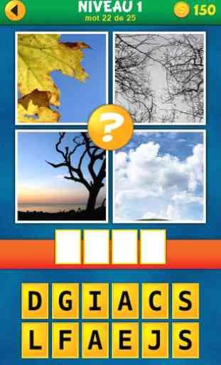 4 Images 1 Mot:Quel est le mot 4