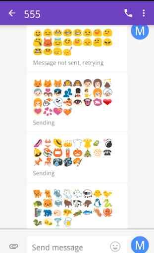 Emoji Fonts for FlipFont 2 1
