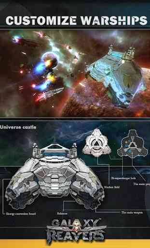 Galaxy Reavers-Space RTS 3