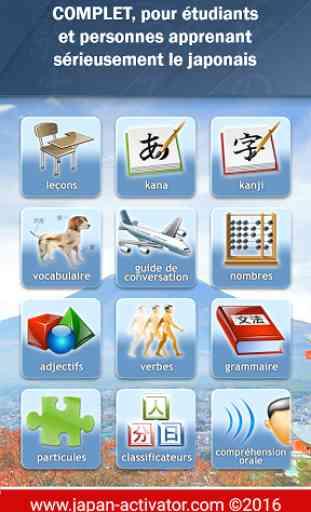 JA Sensei Apprenez le japonais 1