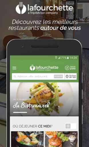 LaFourchette - Restaurants 1