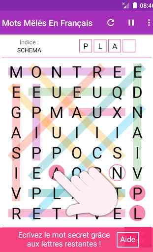 Mots Mêlés Français Gratuits 2