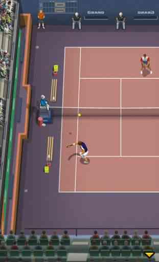Pro Tennis - jeu de sport 4