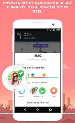 Waze - GPS, Cartes & Trafic 4
