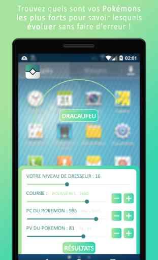 IV Calculator pour Pokémon GO 1