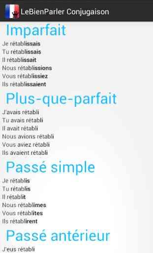 Conjugueur Conjugaison Verbes 2