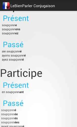Conjugueur Conjugaison Verbes 4