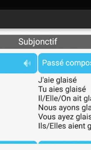 Conjugaison française 4