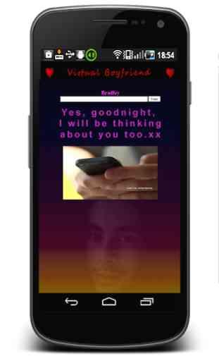 Boyfriend virtuel chat 1