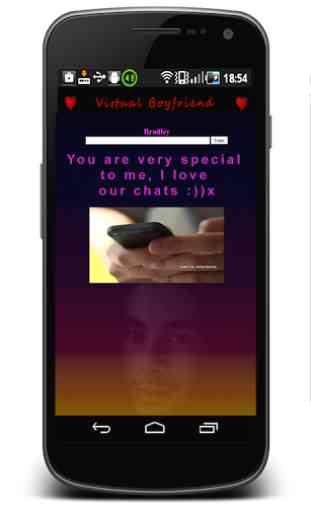 Boyfriend virtuel chat 2
