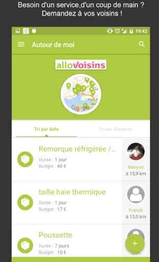 AlloVoisins - location service 1