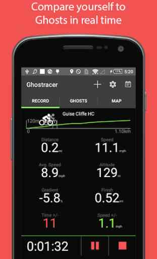 Ghostracer - GPS Run & Cycle 1