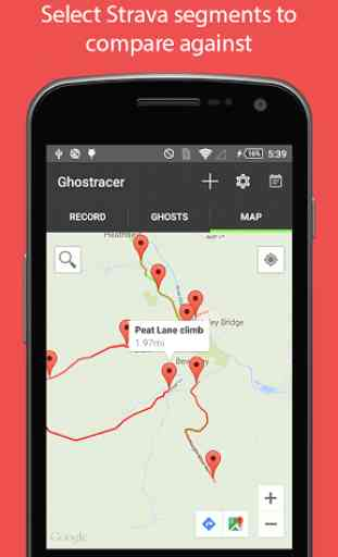 Ghostracer - GPS Run & Cycle 2