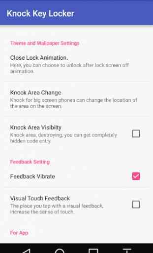 Knock Lock Screen 3