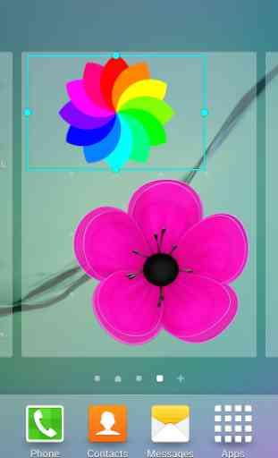 fleur gif animé