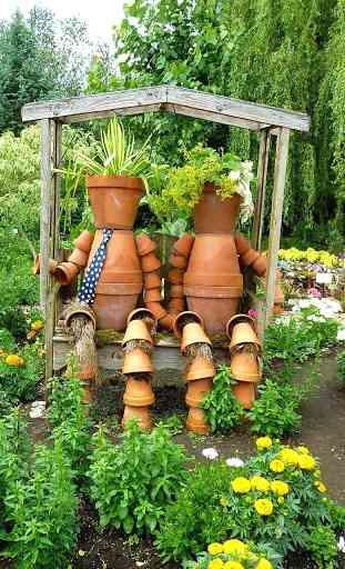 Jardin Fond Animé 4