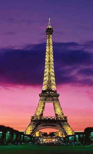 Tour Eiffel Live Wallpaper Application Android Allbestapps