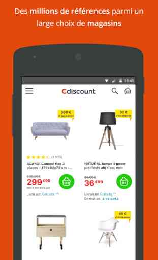 Cdiscount shopping 2