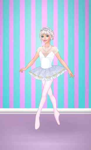 Jeux d'habillage ballerine 1