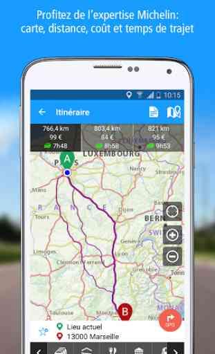 ViaMichelin: Iti, GPS, Trafic 2