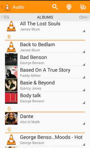 VLC for Android beta 2
