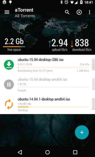 aTorrent - Torrent Downloader 3