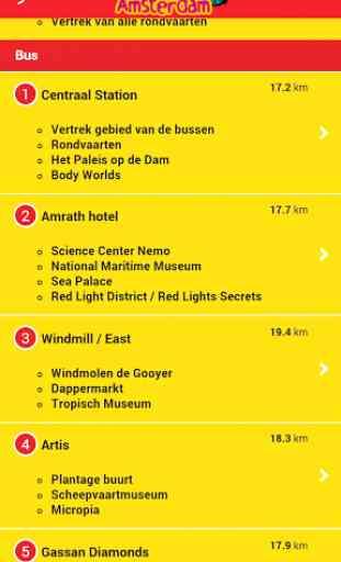 City Sightseeing Amsterdam App 4