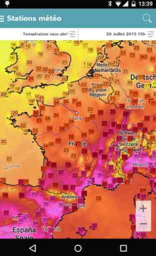 Infoclimat - météo temps réel 2