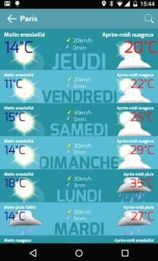 Infoclimat - météo temps réel 3
