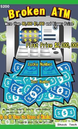 Jeux a Gratter Las Vegas 4
