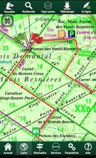 SityTrail France GPS randonnée 2
