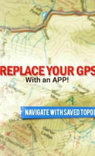 BackCountry navigateur GPS PRO 1