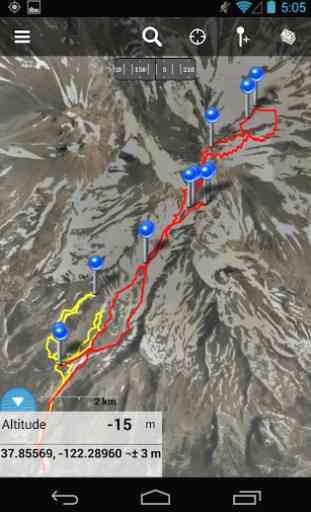 Gaia GPS (Topographiques) 4