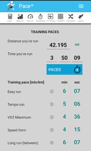 Pace Calculator [Pace+] 4