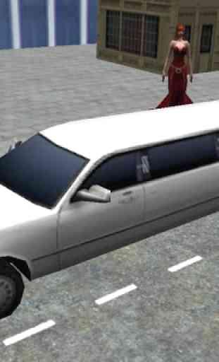 Pilote Simulator Limousine 3D 1