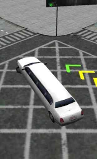 Pilote Simulator Limousine 3D 2