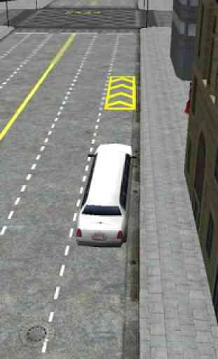 Pilote Simulator Limousine 3D 3