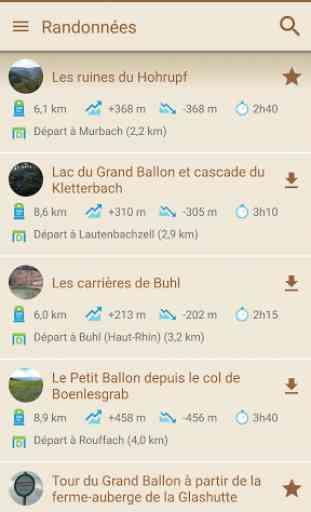 Visorando GPS randonnée 2