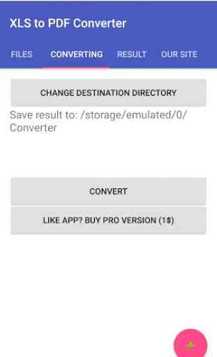 XLS to PDF Converter 3