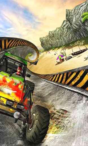 Buggy Stunts 3D: Beach Mania 4