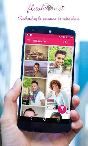 application android chat rencontre