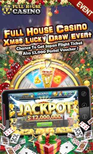 Full House Casino - Free Slots 1