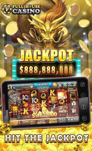 Full House Casino - Free Slots 3
