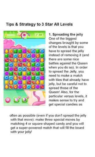 Guide 4 Candy Crush Jelly Saga 3